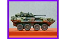 1/35 продажа модели танка ЛАВ-25 Пиранья США 1983 год, масштабные модели бронетехники, коллекция Новостройки СПб, 1:35