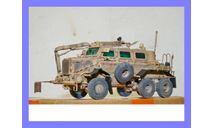 1/35 продажа модели МРАП Буффало МПВ США 2004 год смола, масштабные модели бронетехники, танк, коллекция Новостройки СПб, 1:35