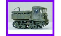 1/35 продажа модели танка артиллерийского тягача марки СТЗ-5 транспортный трактор Сталинградского тракторного завода образца 1937 года, масштабные модели бронетехники, коллекция Новостройки СПб, scale35
