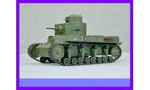 1/35 Продаю модель советского двухбашенного танка Т-24 образца 1930 года, масштабные модели бронетехники, коллекция Новостройки СПб, 1:35