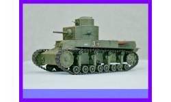 1/35 Продаю модель советского двухбашенного танка Т-24 образца 1930 года