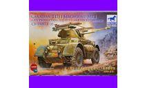 1/35 сборная модель танка Т17Е1 Стегхаунд МК.1 поздний выпуск с ракетной установкой с авиационными 60-фунтовыми ракетами Бронко 35017, сборные модели бронетехники, танков, бтт, коллекция Новостройки СПб, 1:35