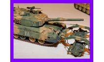 1/35 продажа модели танка Тип 90 с минным тралом Япония 1992 год, масштабные модели бронетехники, коллекция Новостройки СПб, scale35
