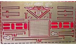 Фототравление набор для КрАЗ 257Б(ССМ), фототравление, декали, краски, материалы, АЕМ, scale0