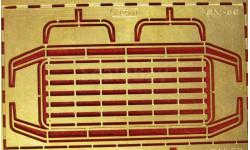 Фототравление Площадка обслуживания ГАЗ66, фототравление, декали, краски, материалы, 1:43, 1/43, АЕМ