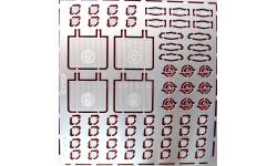 Фототравление набор Набор для КАВЗ, фототравление, декали, краски, материалы, АЕМ, УАЗ, scale43