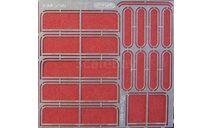 Фототравление Набор рамки форточек,уплотнители овальных стёкол дверей для ЛАЗ-695Н (НА), фототравление, декали, краски, материалы, 1:43, 1/43, АЕМ