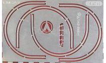 Фототравление Набор молдинги арок колёс для ЛАЗ-695Н (НА), фототравление, декали, краски, материалы, АЕМ, scale43