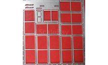 Фототравление Набор рамки форточек для Икарус-260 НА, фототравление, декали, краски, материалы, АЕМ, Ikarus, scale43