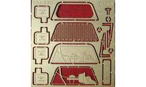 Фототравление Набор для УАЗ 3909 для КIТ от (ZVEZDA), фототравление, декали, краски, материалы, 1:43, 1/43, АЕМ