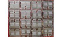 Фототравление НаборЗИС-127спинки сидений НА, фототравление, декали, краски, материалы, АЕМ, scale43