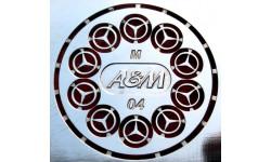 Фототравление для Mercedes М-04, фототравление, декали, краски, материалы, 1:43, 1/43, АЕМ
