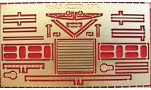 Фототравление набор для КрАЗ 257Б(нап), фототравление, декали, краски, материалы, АЕМ