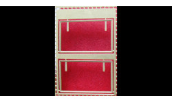 Фототравление Рамки стекол КрАЗ (нап), фототравление, декали, краски, материалы, 1:43, 1/43, АЕМ