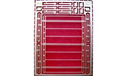 Фототравление набор для сборки авто багажника для Ваз 2102, Ваз 2104