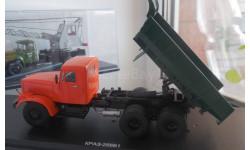 КРАЗ 256Б1 самосвал (оранжево-зелёный) SSM 1:43 SSM1086