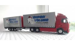 Европаровоз Volvo FH3 + прицеп-тридем (три оси), 1:43, Eligor, масштабная модель, 1/43