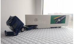 Mercedes-Benz Actros MP1 + полуприцеп (NZG, 1:43), масштабная модель, 1/43