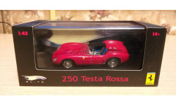 Ferrari Testa Rossa, 1:43 Hot Wheels Elite