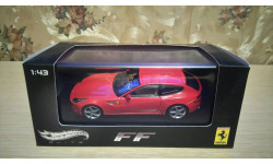 Ferrari FF, 1:43, Hot Wheels Elite