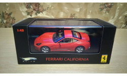 Ferrari California, 1:43, Hot Wheels Elite, масштабная модель, scale43