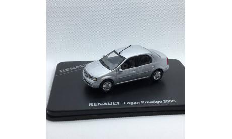 Renault Logan Prestige 1:43, масштабная модель, Norev, 1/43