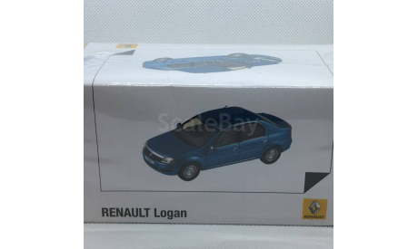 Renault Logan ФАЗА2 1:43, масштабная модель, Norev, 1/43