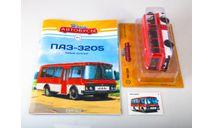 ПАЗ-3205 Наши автобусы №2 ВЫБОРКА КАЧЕСТВО = ЦЕНА, масштабная модель, 1:43, 1/43, Modimio