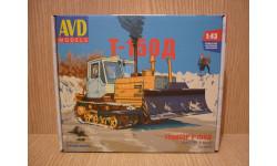 Сборная модель Трактор Т-150Д + фототравление (решётка радиатора) в комплекте, сборная модель автомобиля, AVD Models, scale43