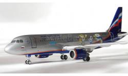 Модель самолёта Airbus A-320 сочи2014 Аэрофлот