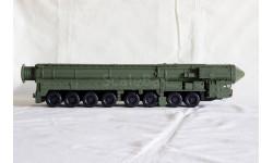 Пусковая установка мобильного стратегического комплекса «Ярс» на базе МЗКТ-79221., масштабные модели бронетехники, 1:43, 1/43, Vол@t
