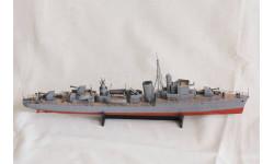 Модель эскортного эсминца 'Краковяк'., редкая масштабная модель, scale0