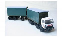 Автопоезд-тюковоз  MЗKT-7321 + MЗKT-80162, масштабная модель, 1:43, 1/43, Vол@t, МЗКТ