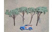 набор деревьев, элементы для диорам
