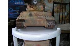 Тигр, масштабные модели бронетехники, scale16, Hachette