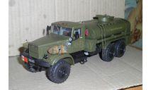 КРАЗ бензовоз, масштабная модель, Элекон, scale43