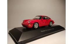 1/43 Porsche 911 (964) carrera 4 1991, масштабная модель, 1:43, Atlas
