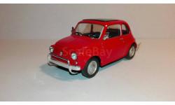 1/43 Fiat 500 - Cararama, масштабная модель, Bauer/Cararama/Hongwell, scale43