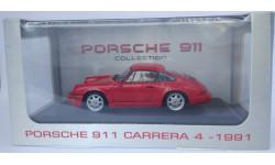 1/43 Porsche 911 (964) carrera 4 1991 - Atlas, масштабная модель, 1:43