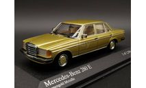 1/43 Mercedes-Benz E-Class 280 E 280E W123 Gold - Minichamps, масштабная модель, scale43