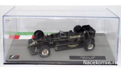 Formula 1 Auto Collection №14 - Lotus 97T Айртон Сенна (1985), журнальная серия масштабных моделей, Centauria, scale43