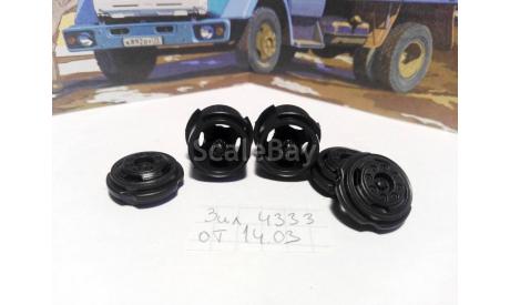 диски ЗиЛ-4331 / 4333 - комплект дисков SSM, запчасти для масштабных моделей, AVD Models, 1:43, 1/43