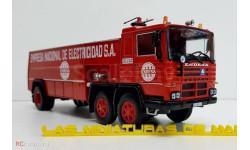 Пожарный автомобиль Pegaso 1183/70 - Bomberos Endesa, масштабная модель, Salvat, scale43