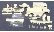 Полный КИТ ГАЗ 62, сборная модель автомобиля, Конверсии мастеров-одиночек, scale43