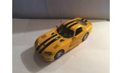 Dodge Viper, масштабная модель, New-Ray