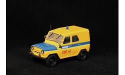 УАЗ-469Б милиция / ПМГ из кита ICV, масштабная модель, Ручная работа, 1:43, 1/43