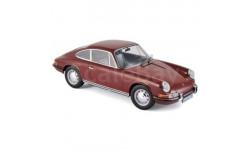 Porsche 911 T 1969 Dark Red 1/18 - 187630 NOREV, масштабная модель, 1:18