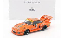 Porsche 935 #52 Winner Bergischer Löwe Zolder DRM 1977 Manfred Schurti 1:18, масштабная модель, Norev, scale18
