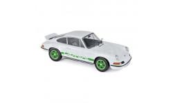 Porsche 911 Rs 1973 белый 1/18 - 187636 Norev, масштабная модель, 1:18