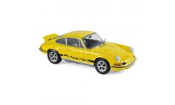 orsche 911RS Touring 1973 желтый 1/18 - 187638 Norev, масштабная модель, scale18, Porsche
